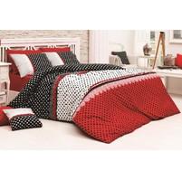 Saténový povlak na polštář Vanesa červená Skladem 1ks 50x50cm a 9ks 40x40cm, Výběr rozměru: 40x40