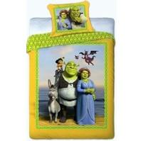 Povlečení Shrek žlutý 140x200