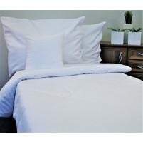 Damaškové povlečení - HOTELOVÝ uzávěr 70x90 - 140x200cm (bílé kávové zrno)