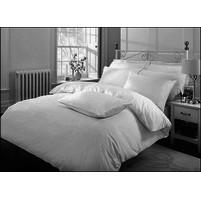 Bavlněné povlečení bílé - Hotelový uzávěr 70x90-140x200 cm