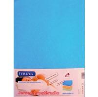 Jersey prostěradlo  jednolůžko 90x200/15 cm (č.22-stř.modrá)