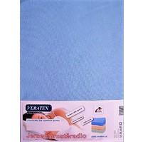 Jersey prostěradlo  jednolůžko 90x200/15 cm (č.21-sv.modrá)