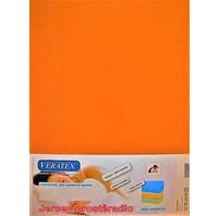 Jersey prostěradlo 180x200/15 cm (č.23-oranžová)