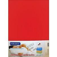 Jersey prostěradlo  jednolůžko 90x200/15 cm (č.18-červená)