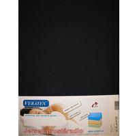Jersey prostěradlo  jednolůžko 90x200/15 cm (č.35-černá)