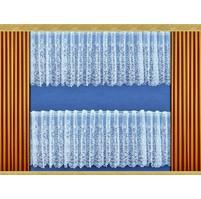 Záclona Věnce výška 60 cm (bílá)