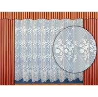 Záclona Věnce výška 80 cm (bílá)