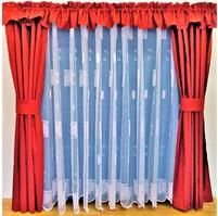 Záclona Kopretinka výška 120 cm (bílá)