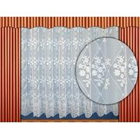 Záclona Věnce výška 140 cm (bílá)