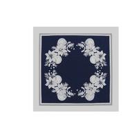 Vánoční prostírka 33x33 cm (modrá)