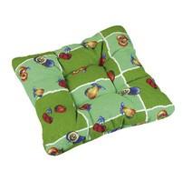 Sedák LEA prošívaný 38x38x cm (zelený)