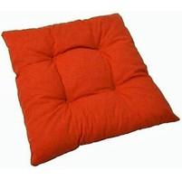 Sedák prošívaný  40x40 cm (cihlový)