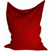 Sedací vak/pytel Klasik 120 x 160 x 25cm (červený)