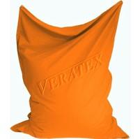 Sedací vak/pytel Klasik 120 x 160 x 25cm (oranžový)