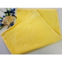Dětské ručniky froté 30x50 cm ( 4-sv.žlutá)