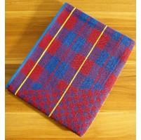Froté ručník (červená kostička)
