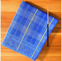 Froté ručník (modrá kostička)