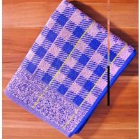 Froté ručník (fialová kostička)