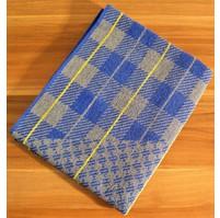 Froté ručník (šedá kostička)