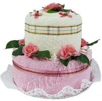 Textilní dort 2-A dvoupatrový