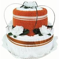 Textilní dort 2-C dvoupatrový