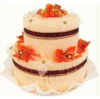 Textilní dort 2-B dvoupatrový