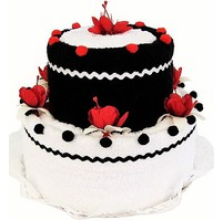 Textilní dort 2-E dvoupatrový