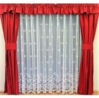 Záclona kusová - Krajka 160x300 cm (bílá)
