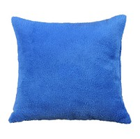Polštářek Mazlík Korall 38x38 cm (modrá)