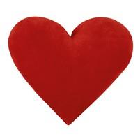 Polštářek srdce červené