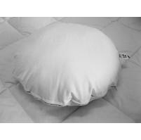 Polštářek Klasik (průměr 40cm) bílý 90°C