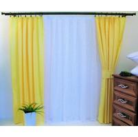 Závěs Orlando žlutý - výška 150/ šířka 150cm