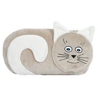 Tvarovaný polštářek Kočička cca 45x40 cm