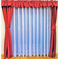 Záclona Borůvka výška 140 cm (bílá)