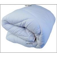 Luxusní prošívaná přikrývka prodloužená 135x220  bílá (letní 660g)