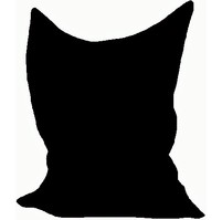 Sedací vak/pytel Maxi 140 x 180 x 30 cm (černá)