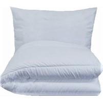 Dětská souprava deka + polštář (45x64 / 90x130 cm) bílá
