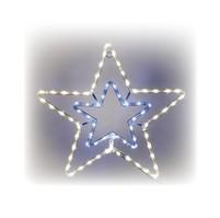 Hvězda svíticí LED dekorace