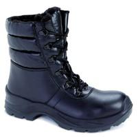 DEMAR - Zimní pracovní obuv vysoká 9024 S2 CI SRC 6292 černá