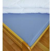 Prostěradlo flanelové 1L UNI 140x240 sv.modré