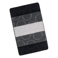 Koupelnová předložka 60x100cm Kroužky šedé