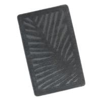 Koupelnová předložka 60x100cm List šedý