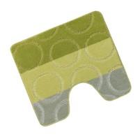 Předložka před WC 60x50cm Kroužky zelené
