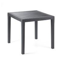 Zahradní plastový stůl King rattan