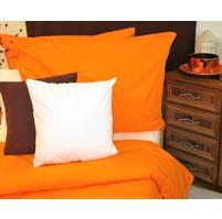 Přehoz na postel bavlna140x200 oranžový