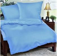 Přehoz na postel bavlna140x200 sv.modrý