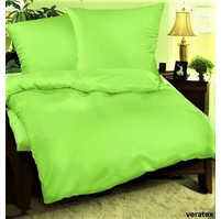 Přehoz na postel bavlna140x200 žlutozelený