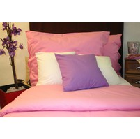 Přehoz na postel bavlna140x200 růžový