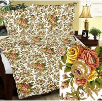 Přehoz na postel bavlna140x200 (R0581)