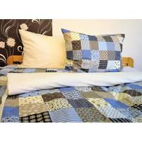 Přehoz na postel bavlna140x200 (R0961 / smetana)